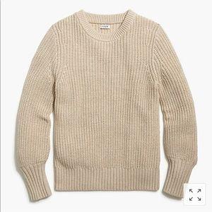 JCREW NWT ballon sleeve sweater XL